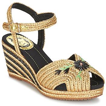 Topánky Ženy Sandále Miss L'Fire RENEE Zlatá