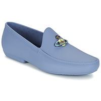 Topánky Muži Mokasíny Vivienne Westwood ENAMELLED ORB MOC Modrá