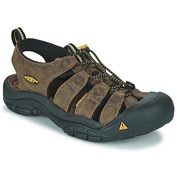 Topánky Muži Športové sandále Keen NEWPORT Hnedá