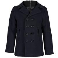 Oblečenie Muži Kabáty Schott CYCLONE 2 Námornícka modrá