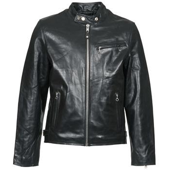 Oblečenie Muži Kožené bundy a syntetické bundy Schott LC 940 D Čierna