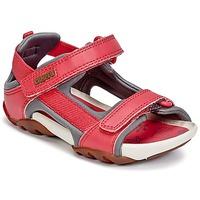Topánky Dievčatá Sandále Camper OUS Červená
