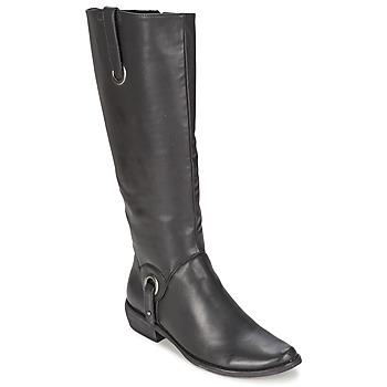 Topánky Ženy Čižmy do mesta Les P'tites Bombes ADAGIO čierna