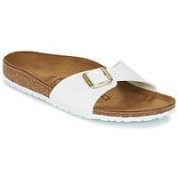 Topánky Ženy Šľapky Birkenstock MADRID Biela / Zlatá