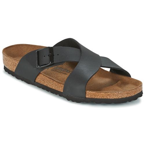 Topánky Muži Šľapky Birkenstock TUNIS Čierna
