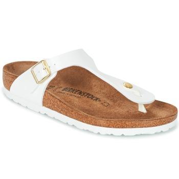 Topánky Ženy Žabky Birkenstock GIZEH Biela / Zlatá