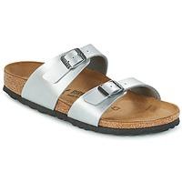Topánky Ženy Šľapky Birkenstock SYDNEY Strieborná