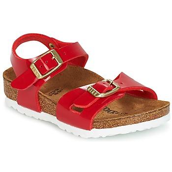 Topánky Deti Sandále Birkenstock RIO Červená