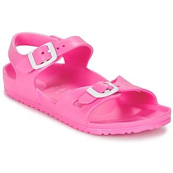 Topánky Deti Sandále Birkenstock RIO EVA Ružová / Fluorescent