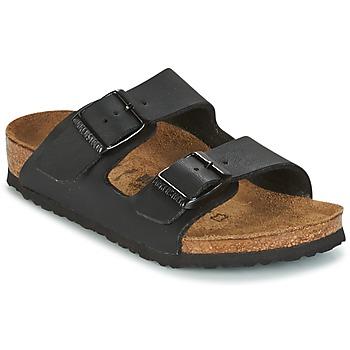 Topánky Deti Šľapky Birkenstock ARIZONA Čierna