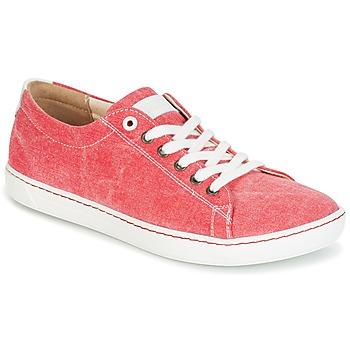 Topánky Ženy Derbie Birkenstock ARRAN LADIES červená