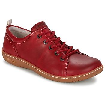 Topánky Ženy Derbie Birkenstock ISLAY červená