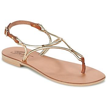 Topánky Ženy Sandále Betty London GARDO Zlatá / ťavia hnedá