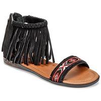 Topánky Ženy Sandále Minnetonka MOROCCO Čierna