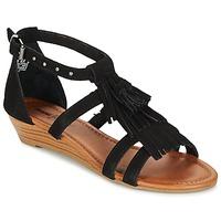 Topánky Ženy Sandále Minnetonka MARINA Čierna