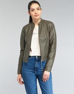 Oblečenie Ženy Kožené bundy a syntetické bundy Vero Moda QUEEN Kaki