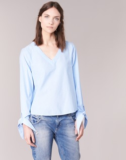 Oblečenie Ženy Blúzky Vero Moda ELVA Modrá