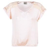 Oblečenie Ženy Blúzky Vero Moda SATINI Ružová