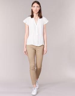 Oblečenie Ženy Nohavice päťvreckové Vero Moda BUENO Béžová