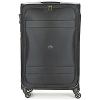 Tašky Pružné cestovné kufre Delsey INDISCRETE 4R 78CM čierna