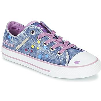 Topánky Dievčatá Nízke tenisky Tom Tailor JIJAA Modrá / Fialová