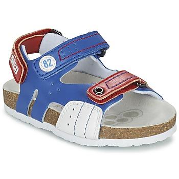 Topánky Chlapci Sandále Chicco HELIO Modrá / Biela / červená