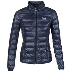 Oblečenie Ženy Páperové bundy Emporio Armani EA7 TRAIN CORE Námornícka modrá