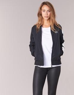 Oblečenie Ženy Bundy  Emporio Armani EA7 TRAIN MASTER čierna