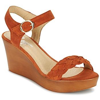 Topánky Ženy Sandále Betty London GIMI Červená hrdzavá