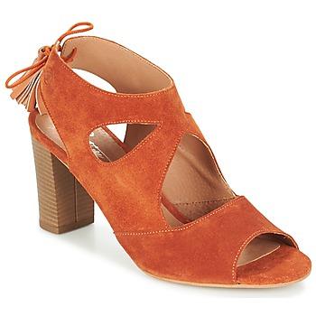 Topánky Ženy Sandále Betty London GARMER červená hrdzavá