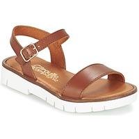 Topánky Dievčatá Sandále Citrouille et Compagnie GLAPOTI Ťavia hnedá
