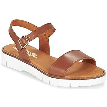Topánky Dievčatá Sandále Citrouille et Compagnie GAPOTI Ťavia hnedá