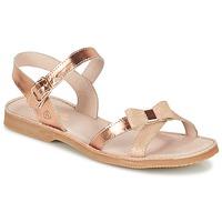 Topánky Dievčatá Sandále Citrouille et Compagnie GOGOGATO Bronzová
