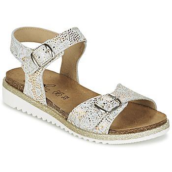 Topánky Dievčatá Sandále Citrouille et Compagnie GUAFRETTE Zlatá