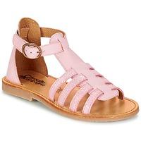 Topánky Dievčatá Sandále Citrouille et Compagnie JASMA Ružová