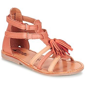 Topánky Dievčatá Sandále Citrouille et Compagnie GOFARO Oranžová