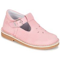 Topánky Dievčatá Balerínky a babies Citrouille et Compagnie GARENIA Ružová