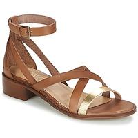 Topánky Ženy Sandále Casual Attitude GILDAS ťavia hnedá / Zlatá