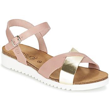 Topánky Ženy Sandále Casual Attitude GIFA Ružová / Zlatá
