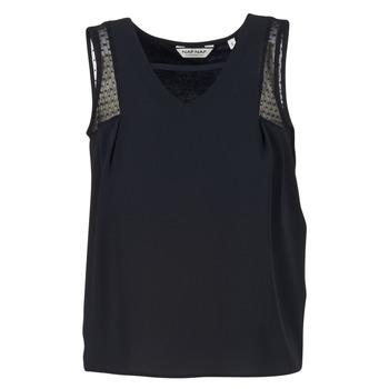 Oblečenie Ženy Tielka a tričká bez rukávov Naf Naf OPIPA čierna