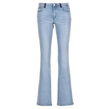 Oblečenie Ženy Džínsy Bootcut Naf Naf GALY Modrá / Clear