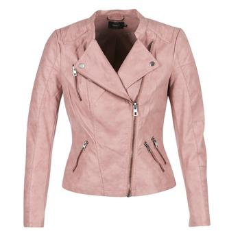 Oblečenie Ženy Kožené bundy a syntetické bundy Only AVA Ružová