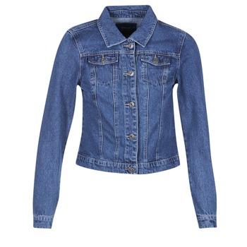 Oblečenie Ženy Džínsové bundy Only DARCY Modrá / MEDIUM