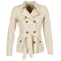 Oblečenie Ženy Kabátiky Trenchcoat Only MARIA SHORT Béžová