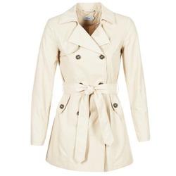 Oblečenie Ženy Kabátiky Trenchcoat Only MARIA LONG Béžová