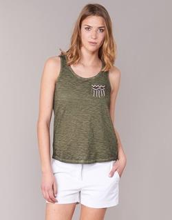 Oblečenie Ženy Tielka a tričká bez rukávov Only VIOLA Kaki