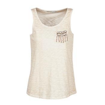 Oblečenie Ženy Tielka a tričká bez rukávov Only VIOLA Béžová