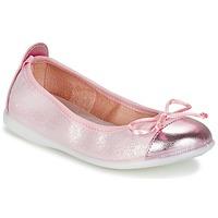 Topánky Dievčatá Balerínky a babies Citrouille et Compagnie GRAGON Ružová / Trblietkavá