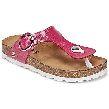 Topánky Dievčatá Žabky Citrouille et Compagnie GOMINET Ružová