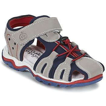 Topánky Chlapci Sandále Citrouille et Compagnie GUFUMO šedá